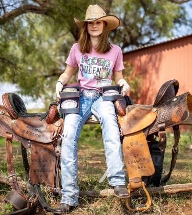 Cissa Dixon rides her way to the NBHA Texas State Championship