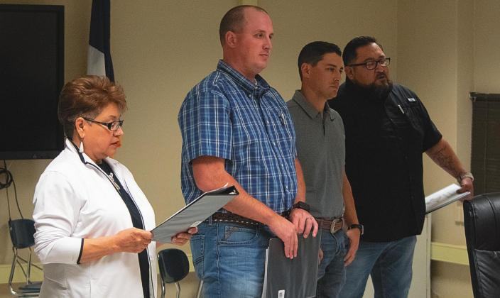 Rotan ISD welcomes new board members and receives bond update